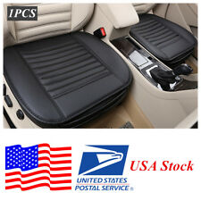 1x Universal 5 Seats Car Cover Seat Cover PU Leather Bamboo charcoal (USA Stock)