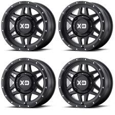 4 ATV/UTV Wheels Set 14in KMC XS128 Machete Black 4/115 35mm WCT