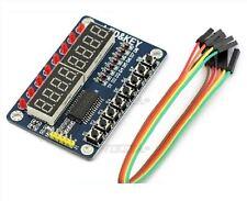 2Pcs Led Key Tm1638 Module Digital Tube For Avr Arduino 8-Bit Ic New Q