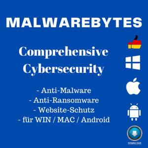 Malwarebytes Premium 2021 | 1 / 3 Geräte - 1 Jahr | BLITZVERSAND | DE Händler