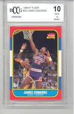 1986 Fleer Basketball James Edwards (#29) BCCG10 BCCG