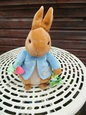 BEATRIX POTTER PETER RABBIT WITH RATTLE 14 INCH