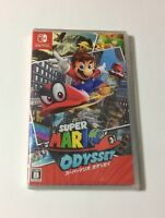 NEW Nintendo Switch Super Mario Odyssey JAPAN import Japanese game
