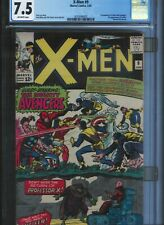 CGC 7.5 X-MEN #9 1ST APPEARANCE OF LUCIFER 1ST XMEN & AVENGERS OFF-WHITE PAGES