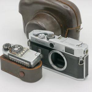 Canon P + Belichtungsmesser Rangefinder 35mm Analog Kamera (Leica M39 Bajonett)
