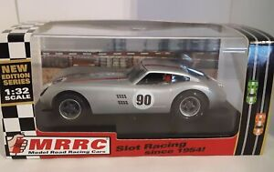 MRRC Kellison, MO-46A, Silver #90 with silicone tires, 1/32 Slot Car