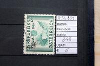 FRANCOBOLLI AUSTRIA USATI N. 849 (A54639)
