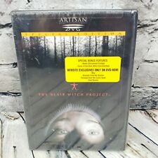 The Blair Witch Project (Dvd, 1999, Special Edition) Horror Suspense New Sealed