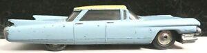 Tootsietoy Car Classic Series Blue/White 1960 Cadillac Mfg 1960&1961 Nice Shape