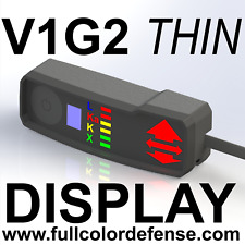 THIN COLOR V1G2 GEN2 Valentine One Concealed Display!! Rear or Side Cord