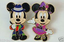 Tokyo Disney Resort Game Prize Pin TDL Halloween Pop'n Live 2016 Mickey Minnie