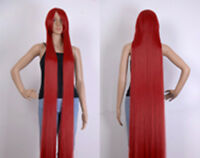 """60 """"(150cm)  Extra Long wig Straight Cosplay Party Costume Anime Hair"""
