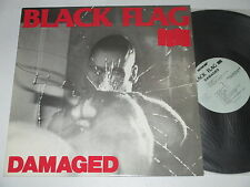 LP/BLACK FLAG IIII/DAMAGED/SST 007/ Cesstone Music 1984 MEGARAR