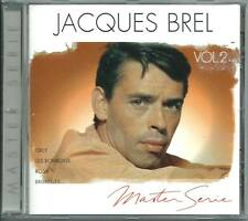 JACQUES BREL Master Serie Vol 2 FRENCH CD ALBUM