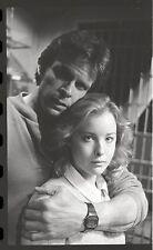 FAYE GRANT MARC SINGER V THE VISITORS RARE ORIGINAL 1983 NBC TV PHOTO NEGATIVE