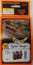 Kestrel KD27  Town Houses. (Plastic Model Kit) N Gauge Railway