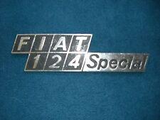Emblem / Badge Fiat 124 Special Metall