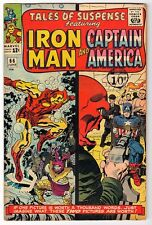 Marvel Comics  FN 5.0 TALES OF SUSPENSE  #66  RED SKULL Captain america