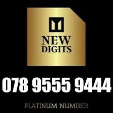 GOLD UNIQUE VIP DIAMOND PLATINUM MOBILE PHONE NUMBER SIM CARD 9555 9444