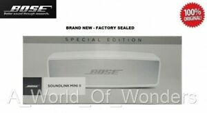 Bose SoundLink Mini II Special Edition Bluetooth Smart Speaker - Luxe Silver