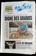 La voix des sports 12/2/1996; Enduro du Touquet/ Meetin Lièvin/ Haltérophilie