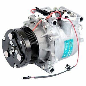 For Saab 9-3 1999 2000 2001 2002 2003 OEM AC Compressor & A/C Clutch CSW