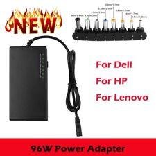 96W Universal Laptop Power Supply 110-240v AC To DC 12V/16V/18V/19/24 Adapter TD