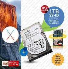 """Macbook Pro, Mac:: 1 TB Mini 2.5"""":: unità di avvio Hybrid (SSHD):: Plug n Play"""