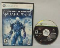 Enemy Territory Quake Wars Game - Microsoft Xbox 360 Rare Tested Works