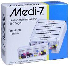 MEDI 7 Medikamentendosierer für 7 Tage weiß / PZN: 03812431