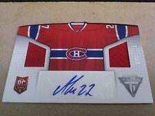 Alex Galchenyuk 2013-14 Titanium Home Sweaters Dual Relic Auto /100 Canadiens