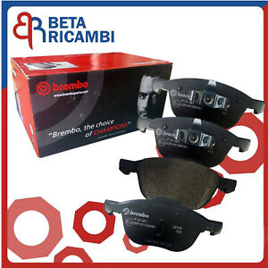 Kit Pastiglie Pattini Freno Ford Focus C-Max 1.6 Tdci Anteriori Brembo Ford Kuga