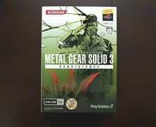 PlayStation 2 Metal Gear Solid 3 Subsistence Limited Edition PS2 Japan game US S