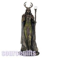 More details for new keeper of the forest goddess pagan wicca figurine ornament nemesis statue