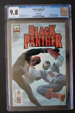 BLACK PANTHER #1-B Limited VARIANT 2005 1st Cannibal & Reese 4 x Movies CGC 9.8