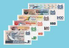 Singapore Bird Series $1 - $100 Set