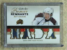 09-10 OPC Premier Remnants Quad Game-Used Patches RC Rookie MATT DUCHENE /10
