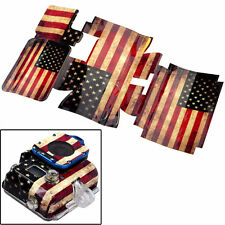 G12 Stickers American USA Flag Retro Style Full Body for GOPRO HD Hero 3