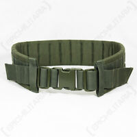 Olive Green MOLLE Modular Belt - Tactical Padded Airsoft Army Military Webbing