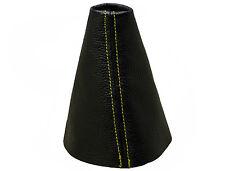 CITROEN C4 GRAN PICASSO (06-13) Soufflet Levier de Vitesse Cuir - Couture Jaune