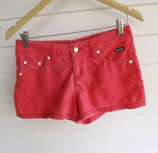 Rip Curl Women's Red-Coral 'Fade Out 3' Shorts - Size 8