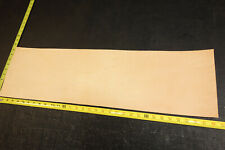 "32"" x 9"" Vegetable Tanned Cowhide 2 to 3 oz. Tooling Leather Piece, 1st. QLTY"