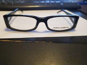 NEW DOLCE GABBANA D&G 1103-B 501 RX Glasses Black 52/15/135 PERFECT AUTHENTIC
