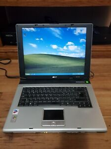 Acer Aspire 1680 Laptop Windows XP PRO, Intel Pentium M, 2GB, 60GB, WORKS, READ!
