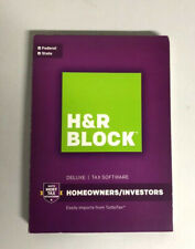2016 H&R Block Deluxe Homeowners/Investors Federal and State