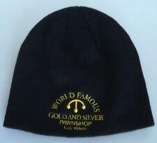 Pawn Stars World Famous Gold & Silver Pawnshop Las Vegas Black Beanie Hat Cap