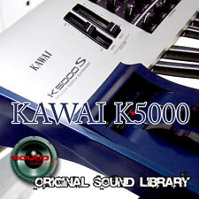KAWAI K5000 - unique HUGE WAVE Multi-Layer Studio Samples Library 1.02GB on DVD
