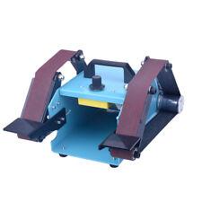220V Desktop double head electric abrasive finishing machine Belt Sander 950W Y