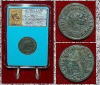Roman Empire Coin AURELIAN Concordia Clasping Hands With Aurelian Antoninianus