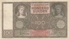 🇳🇱 100 Gulden - 1941 - Niederlande - P-51b 🇳🇱